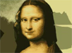 Mona Lisa p� MS paint